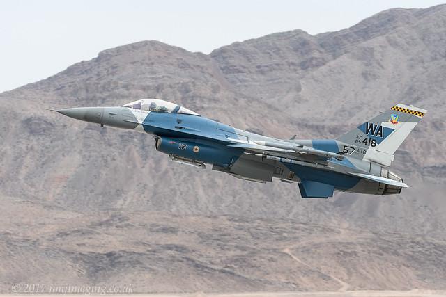 F-16C 64th AGRS - Aviation Nation 2017