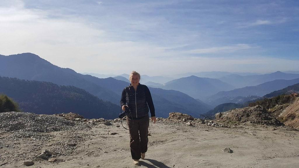 Marlene in Sikkim, Indien