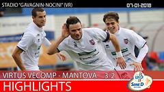 Virtus V.-Mantova del 07-01-18