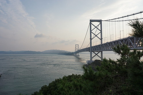 次の朝、大鳴門橋