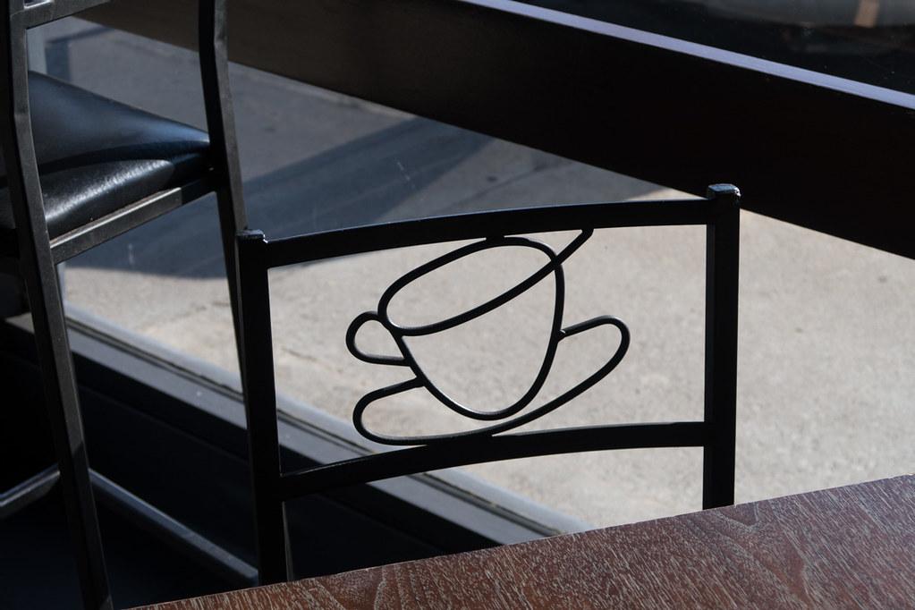 Coffee mug chair design
