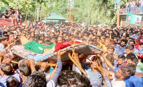 Indian troops, in their fresh act of state  terrorism martyred one more Kashmiri youth in Baramulla.