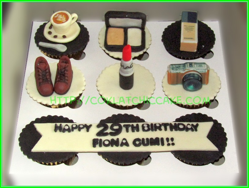 Cupcake set - Fiona