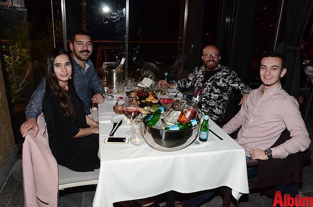 Buket Fesli, Güven Şirin, Rıza Güllüoğlu, Kağan Şirin