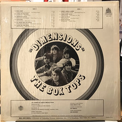 THE BOX TOPS:DIMENSIONS(JACKET B)