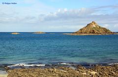 L'îlot du Verdelet ©depuis la Pointe de Pleneuf Val André
