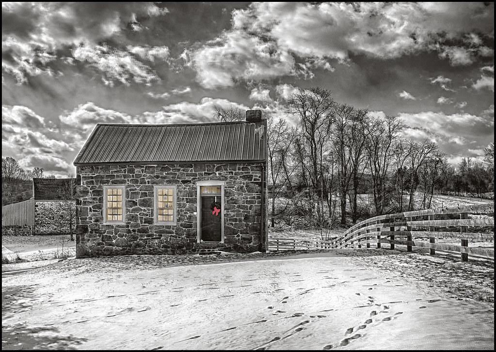 1-5-18 - Early settlers cabin