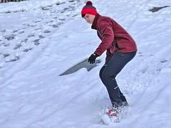 Snowboarding in PTC