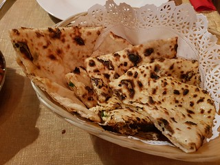 Vegan Kulcha at Eden Garden Indian Cuisine