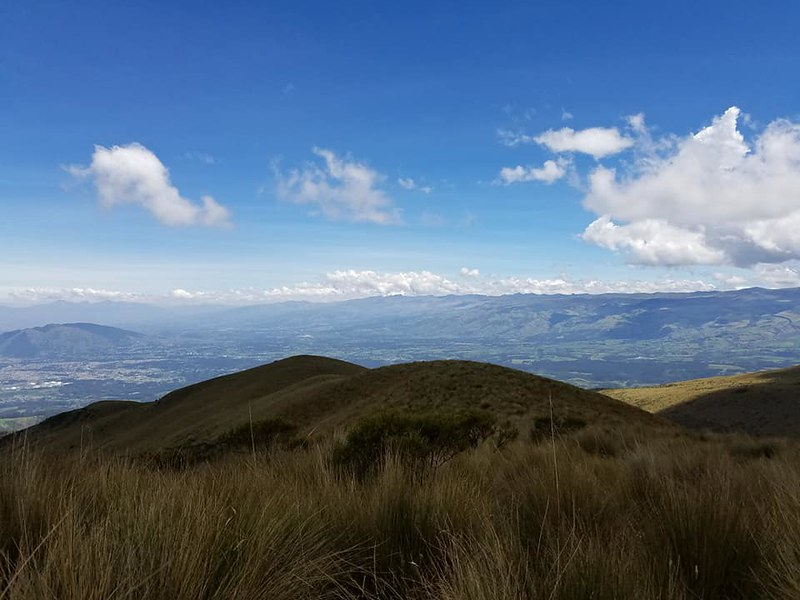 Pasochoa • View of Cayambe