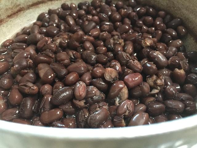 Azuki beans boiled