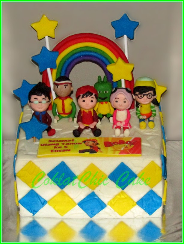 Cake Boboiboy ENSAN 15cm