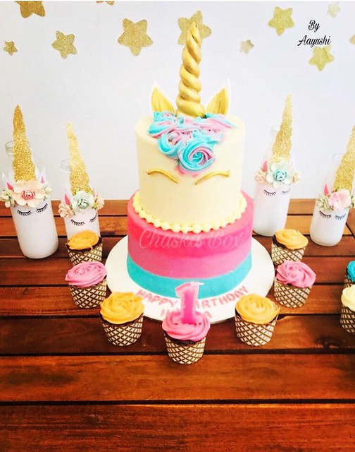 Unicorn Cake by Aayushi Khandelwal of Chaska Box - Wrapped With Happiness