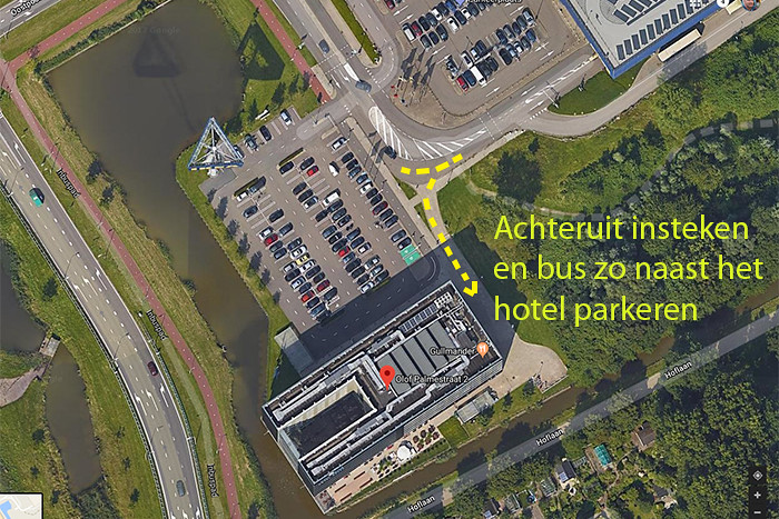DelftWestcordHotel-parkeren