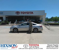 #HappyBirthday to Shane from Jason Olfers at Hixson Toyota of Leesville!