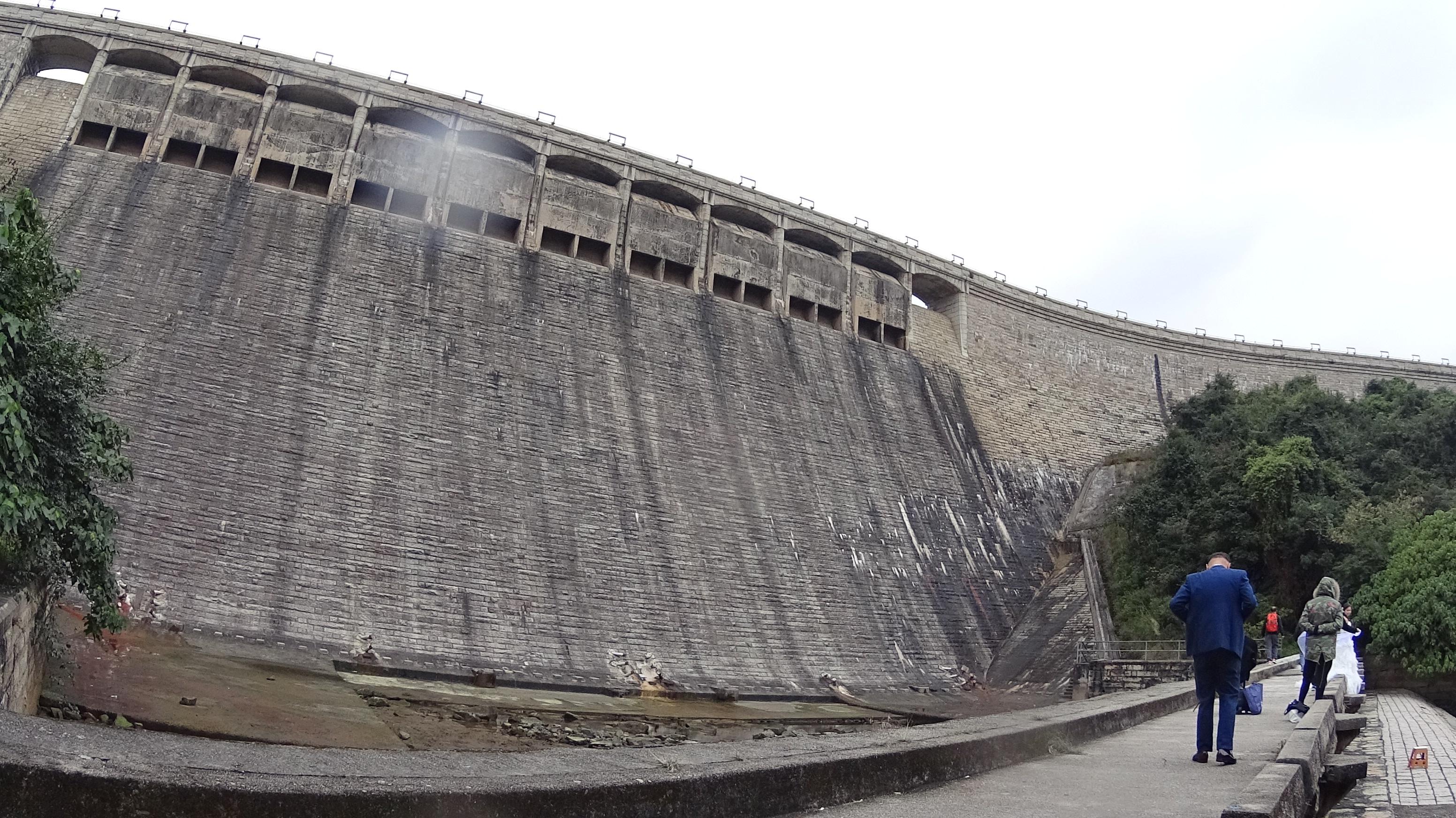 Tai Tam Reservoir Dam 大潭水塘主壩
