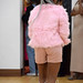 DSC_5792 Miss Southern Africa UK Beauty Pageant Contest at Oasis House Croydon Dec 2017 Mbali Pink Hotpants and Faux Fur Coat