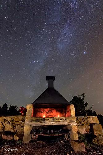 Fotografia nocturna masia los toranes