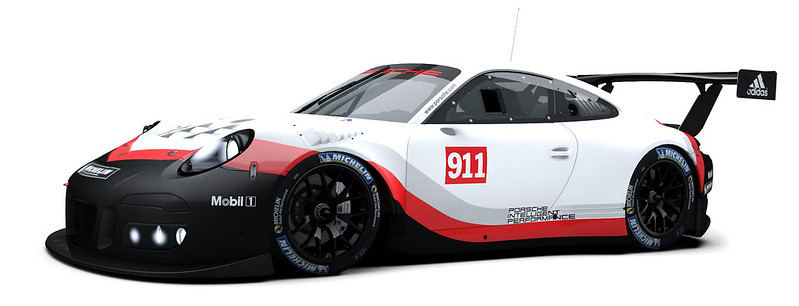 RaceRoom Porsche 911 GT3 R Previews