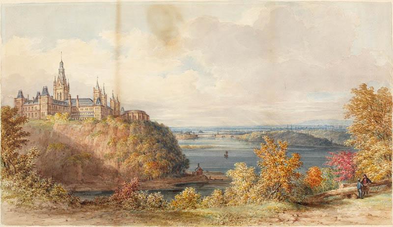 Parliament Buildings, Ottawa, Ontario, c. 1866.