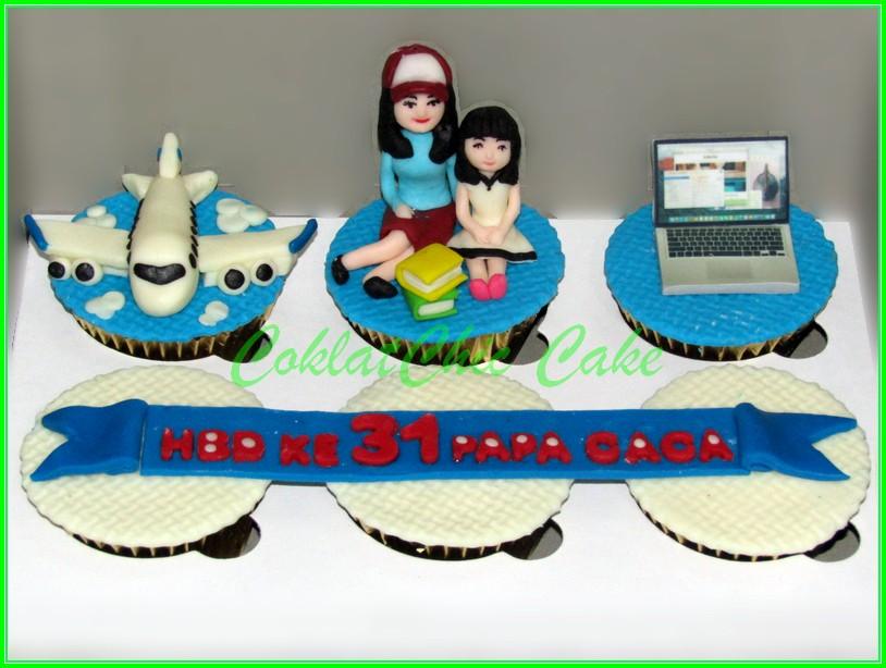 Cupcake Set PAPA CACA