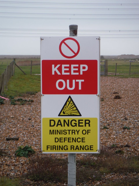 At Edge of Lydd Ranges