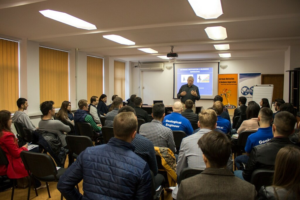 "SPE YP Romanian Section ""Intrinsic Motivation: A Business Imperative"" Workshop"
