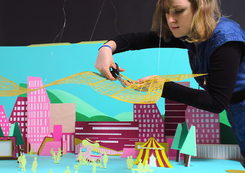 Paper Stop-Motion Animation