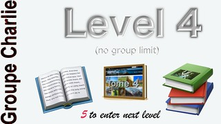 Groupe Charlie - Level 4 -Code NA-01022017004-463589711254