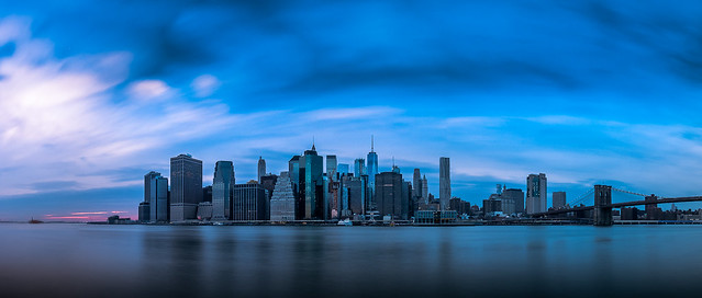 Manhattan Skyline - New York - Cityscape photography