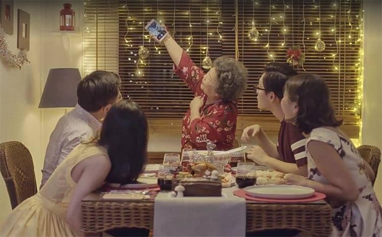 Singtel Ah Ma's Christmas