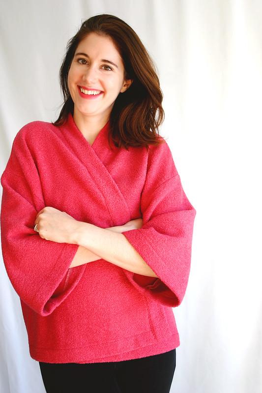 boucle kochi kimono