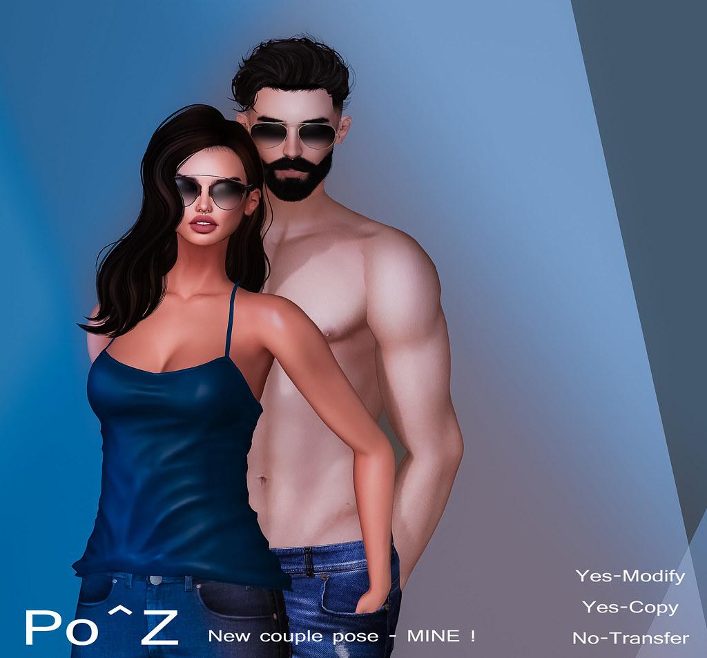 Mine - New couple pose @ Po^Z - TeleportHub.com Live!
