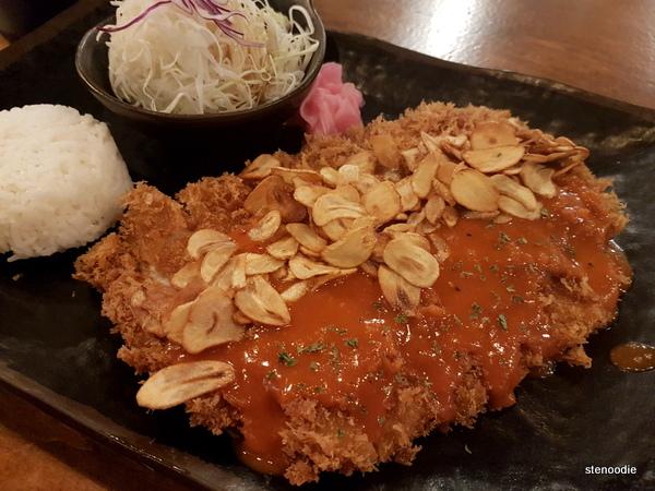 Spicy Garlic Cheese Katsu