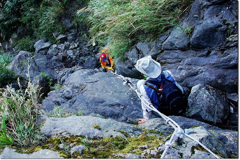 乾溪谷垂直石壁地形 5