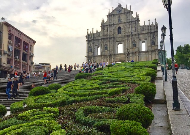 Living in Macau Cathedral
