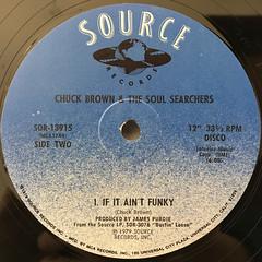 CHUCK BROWN & THE SOUL SERCHERS:GAME SEVEN(LABEL SIDE-B)