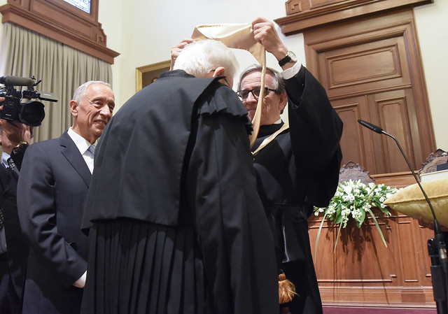 Doutoramento Honoris Causa de Sergio Mattarella