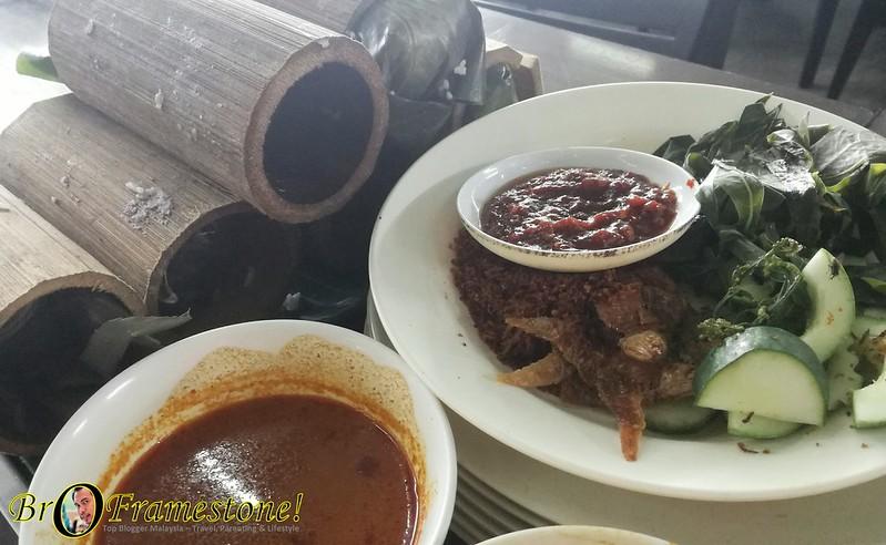 Restoran Nasi Bamboo Sungai Klah, Sungkai