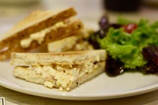 Paneer sriracha sandwich