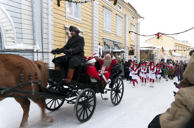 Rauhallista ja hyvää joulua teille kaikille! Valokuvaaja: Markus Kauppinen