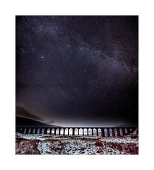 Ribblehead Viaduct and the Milky Way