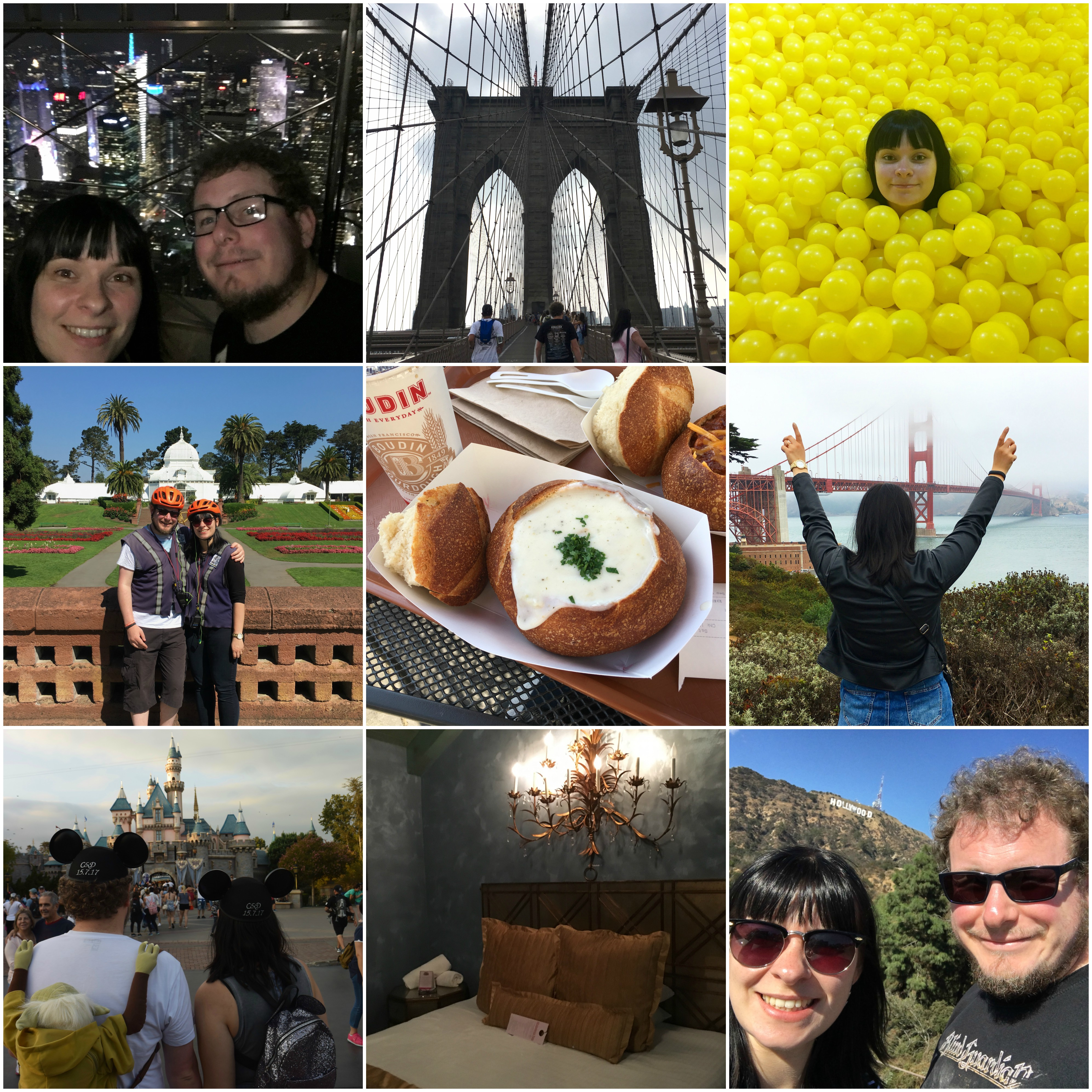 2017 in review - SEPT - Honeymoon
