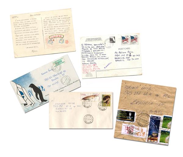 Cartas e envelopes