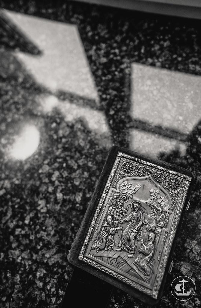 "17 декабря 2017, Литургия в храме иконы Божией Матери ""Утоли моя печали"" в клинике психиатрии ВМА / 17 December 2017, Liturgy in the church of the Icon of the Mother of God ""Assuage my sorrow"" in the clinic of psychiatry of the Military Medical Academy"