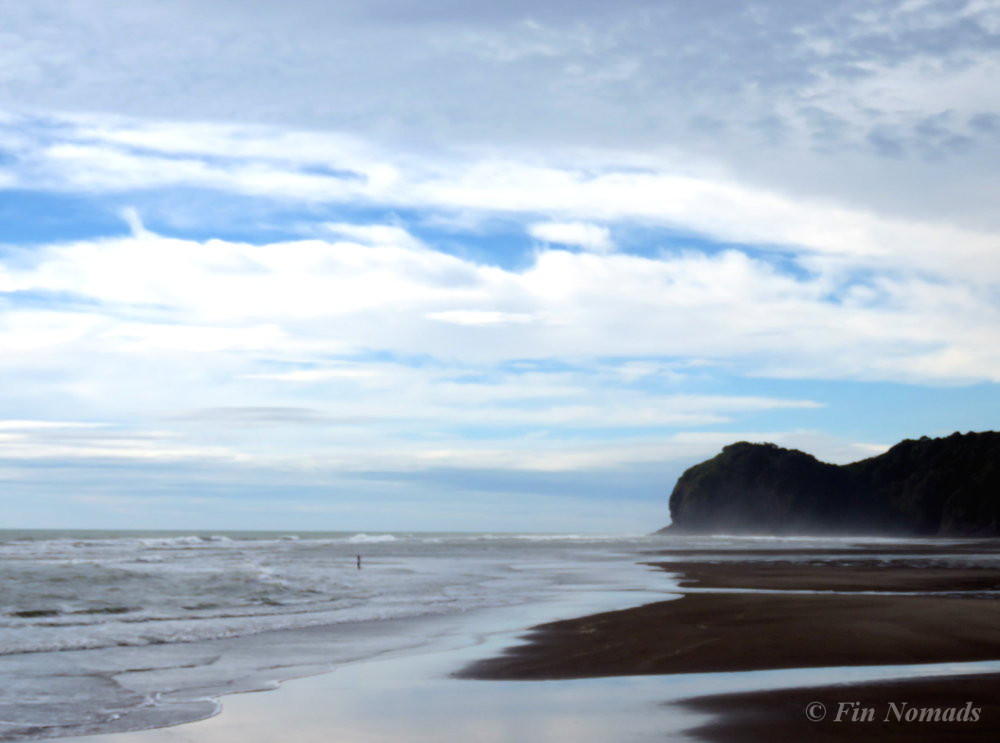 Piha beach day trip