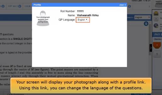 Choosing language