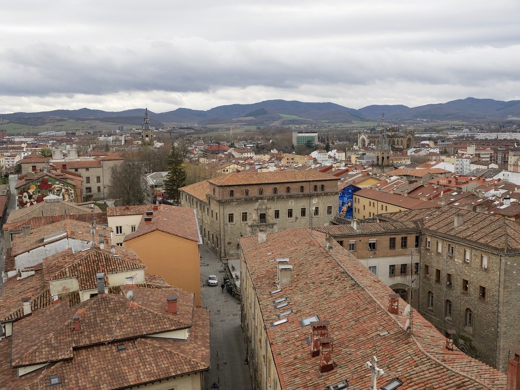 View from The Cathedral of Santa María de Vitoria