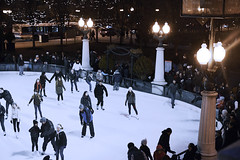 Chicago Grant Park Ice rink