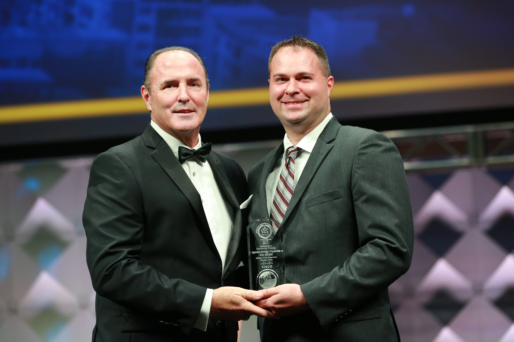 IACPCisco Leadership in Community Policing Award (Over 250K) - Arlington
